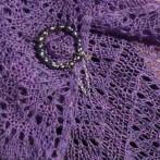 Lavender Fields Shawl Kit