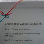 Create your own shawl kit