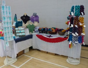 booth at gathering