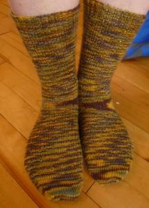 Barb's socks