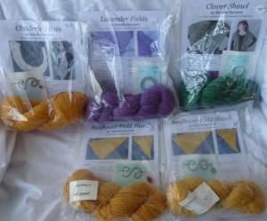 5 shawl kits