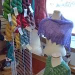 shawls+stand