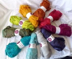 colourways for retreat's workshop