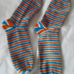 Self-Striping Sock – Beach Ball : Dyed to order