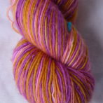 Merino Single Ply Fingering – Summer Flowers