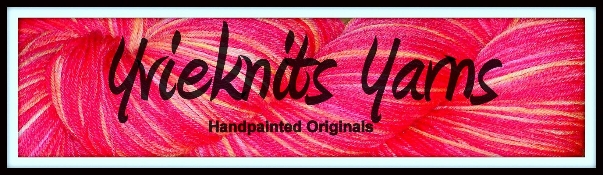 Yvieknits Yarns - Handpainted Originals